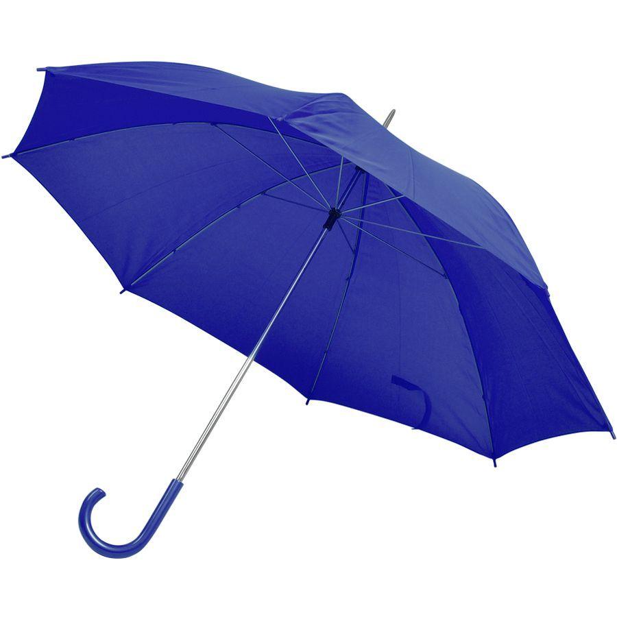 Зонт-трость синий