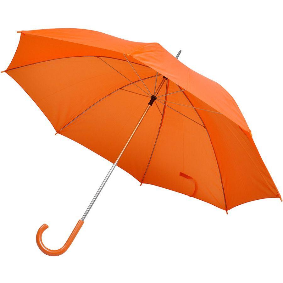 Зонт-трость оранжевый
