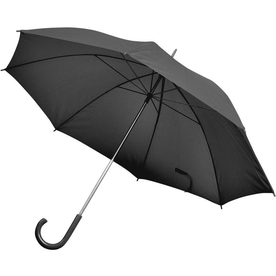Зонт-трость черный