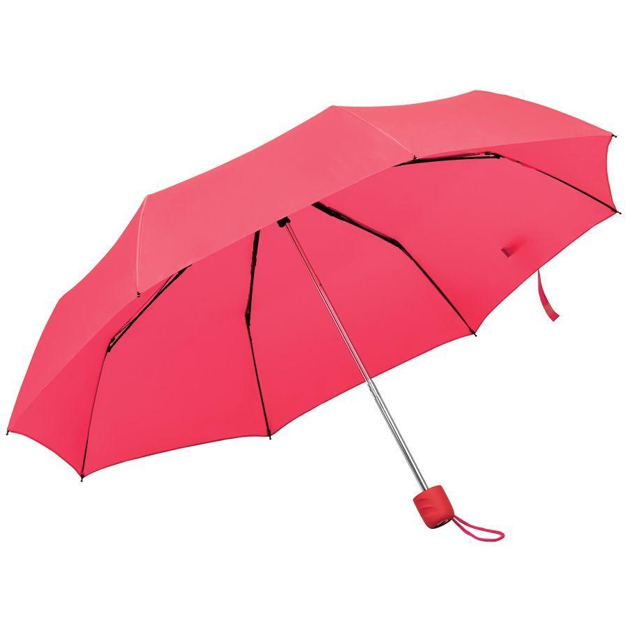 Складной зонт Foldi красный