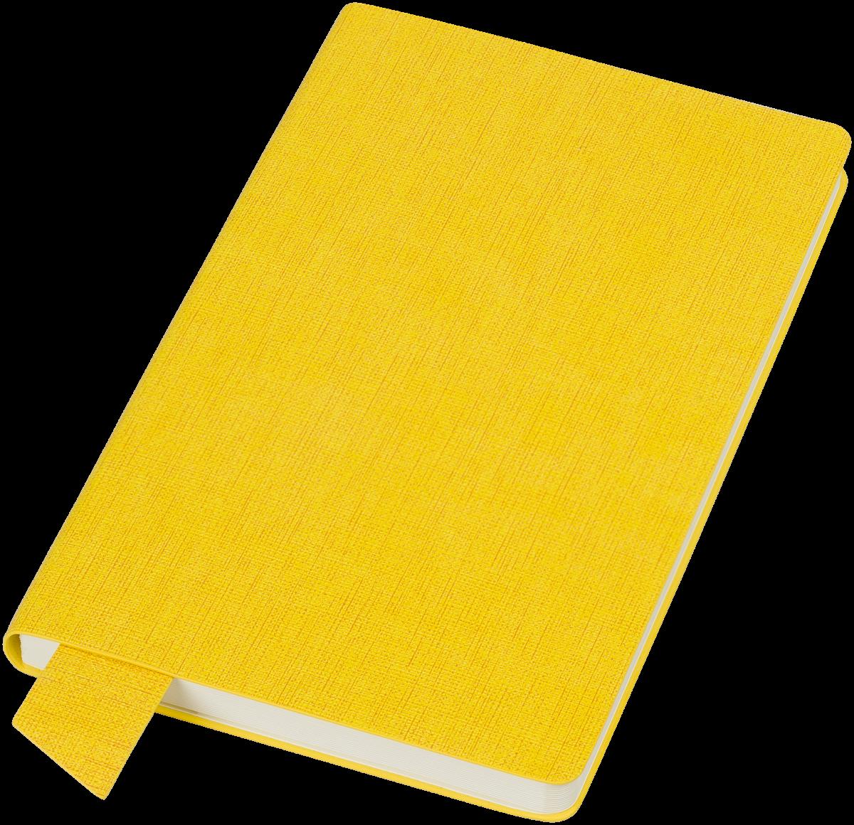 Желтый бизнес-блокнот Provence А5